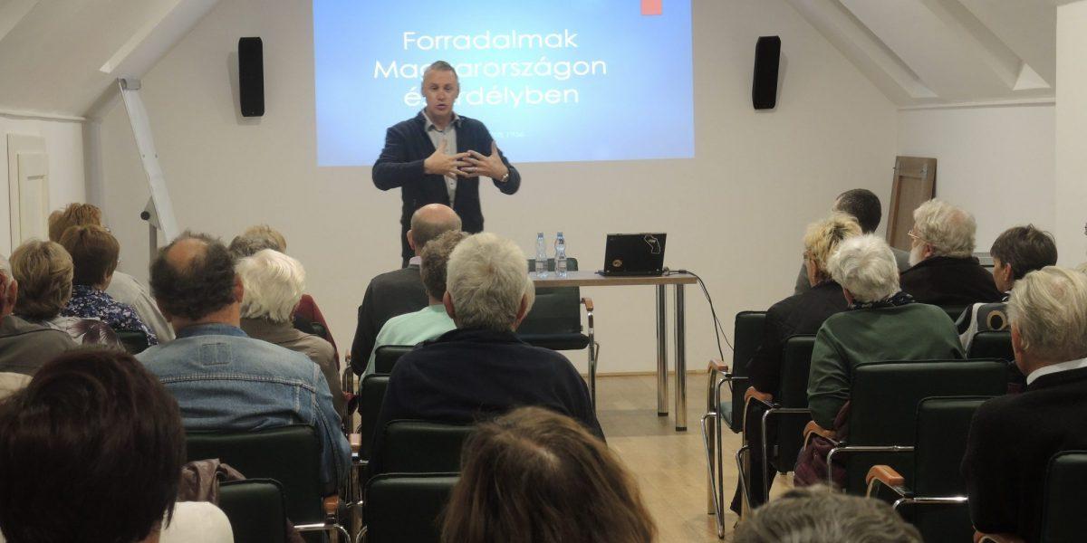 Az 1848-as forradalom és szabadságharc, az 1918-as és az 1956-os forradalom előzményeiről és következményeiről a torockói Duna-Házban