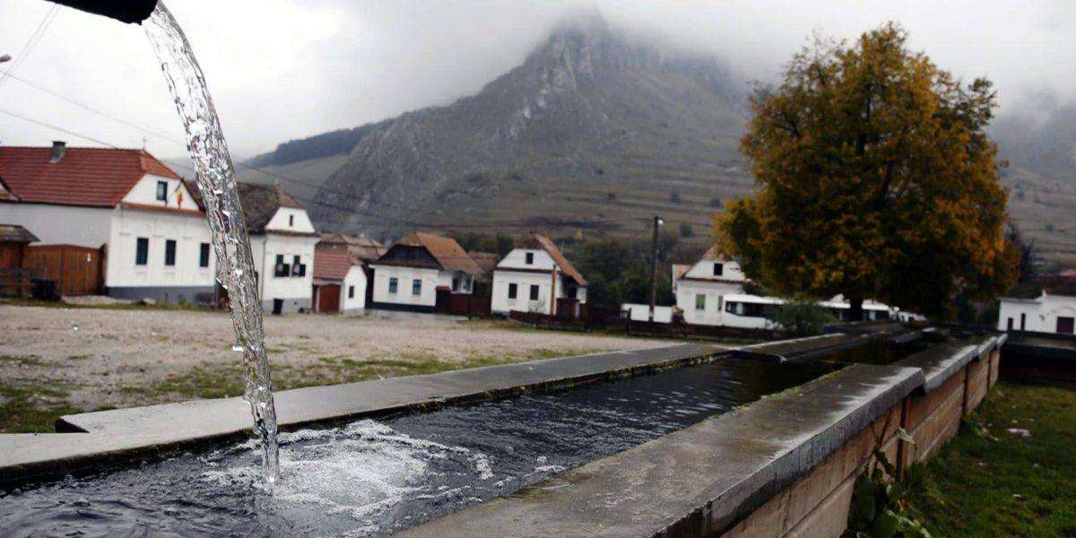 Torockó főtere, erdélyi turizmus