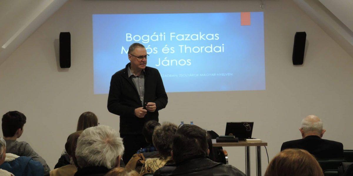 Bogáthi Fazakas Miklós - Történelemóra 2019.03.29. (Fotó: Fodor Tibor)