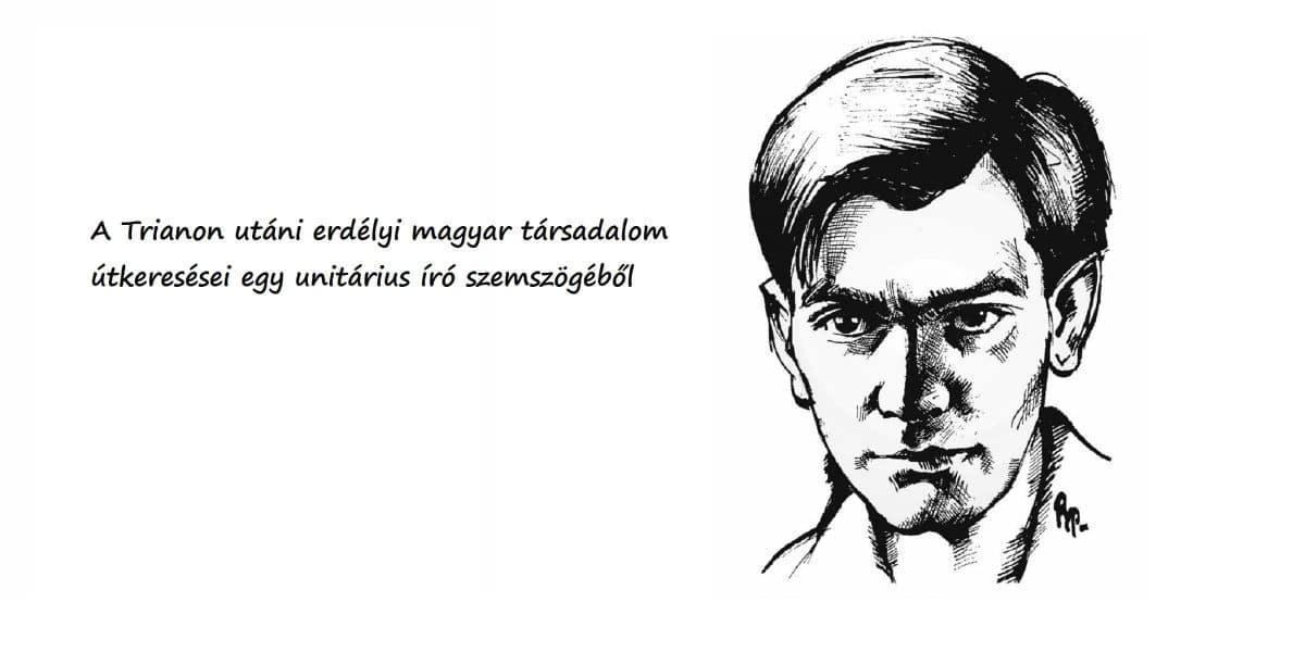Balázs Ferenc portréja (Fotó: Erdélyi Napló)