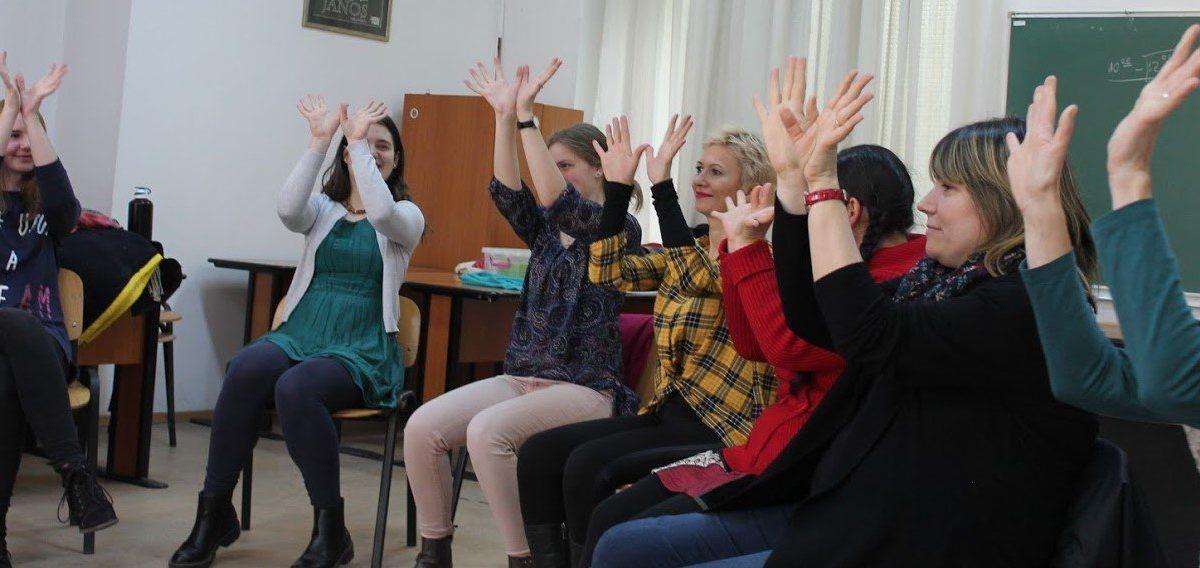 7-et egy csapásra – Tekergő gyakorlati (mesemondó) meseműhely pedagógusoknak (Fotó: Tekergő)